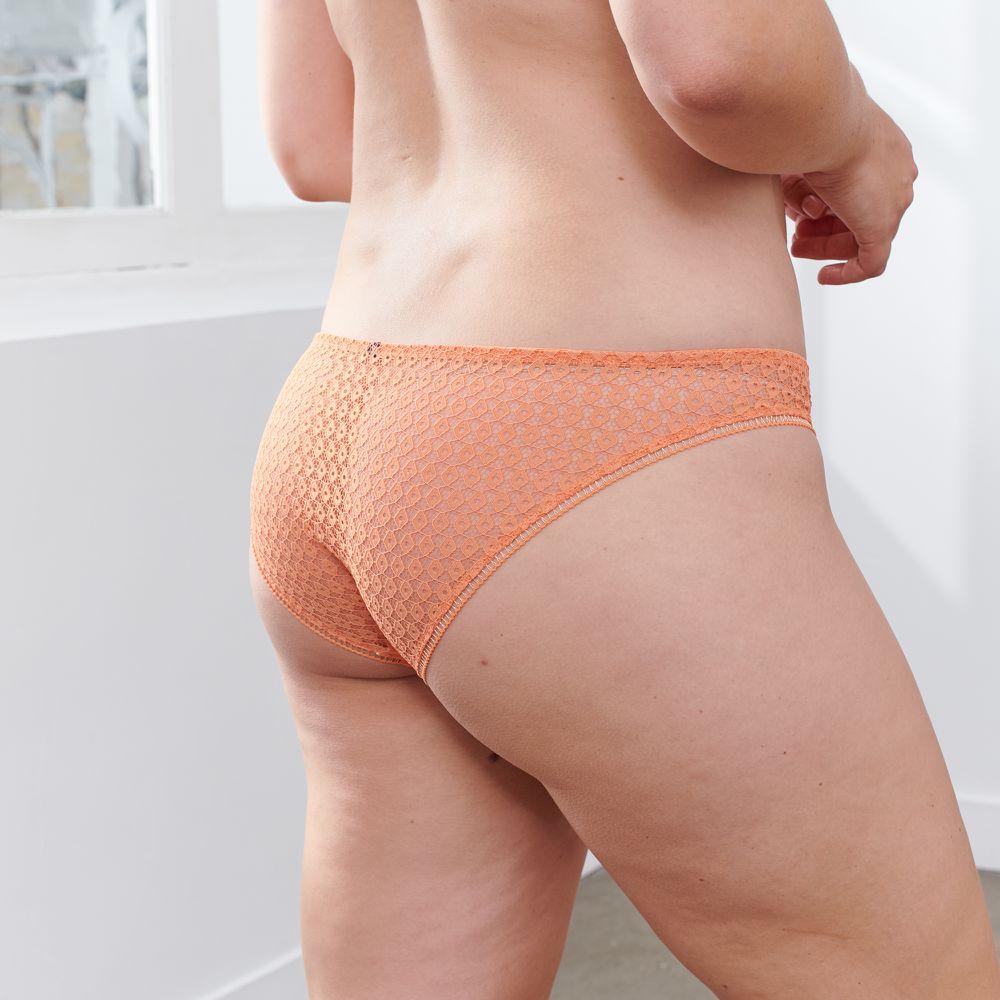 Culotte Et Bas Femme Corail Le Slip Français