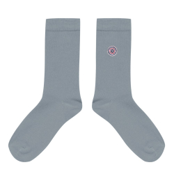Les Lucas - Chaussettes unies grises