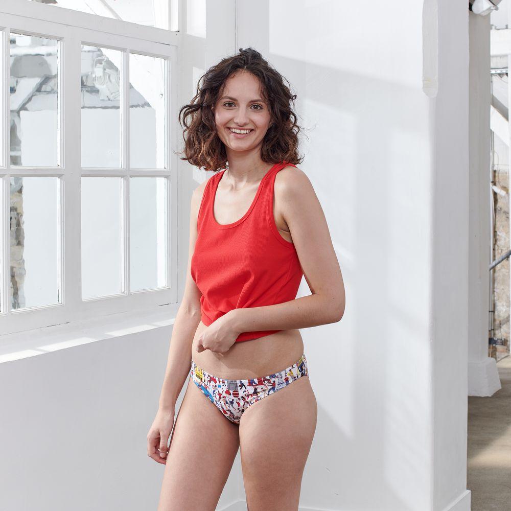 Culotte Et Bas Femme Inoui Le Slip Français