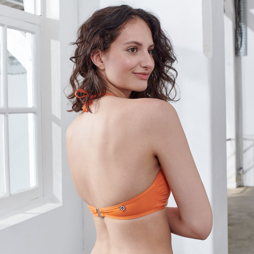 Haut De Maillot Femme Orange Le Slip Français