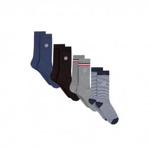 Quatro de chaussettes en coton