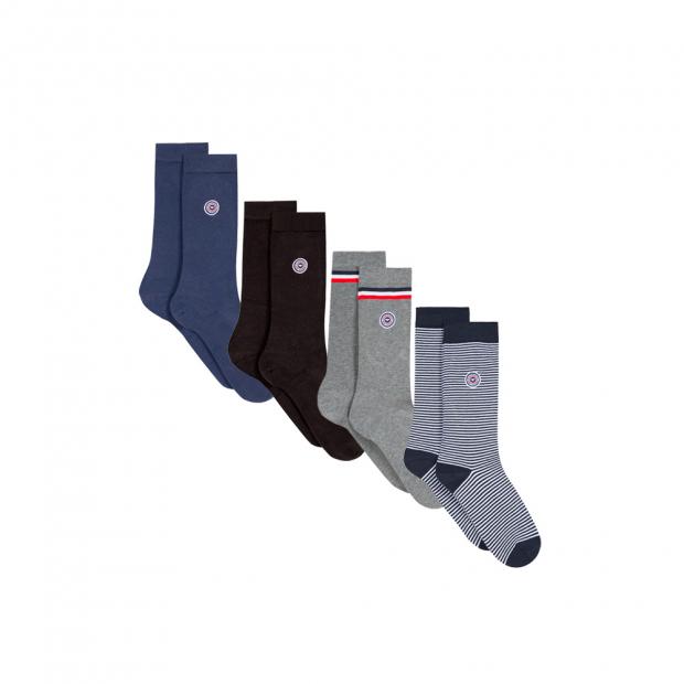 4 pairs of socks