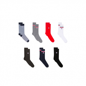 7 pairs of socks