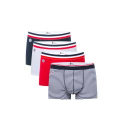 Le Marius quatro - Quatro boxers Bleu-blanc-rouge
