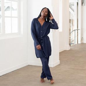 Gepunktete Pyjamahose