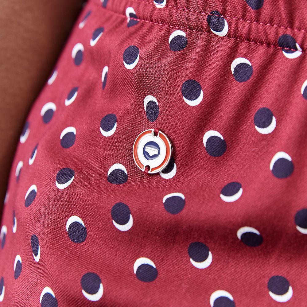 Pyjama Bas Femme Petits Pois Bordeaux Le Slip Français