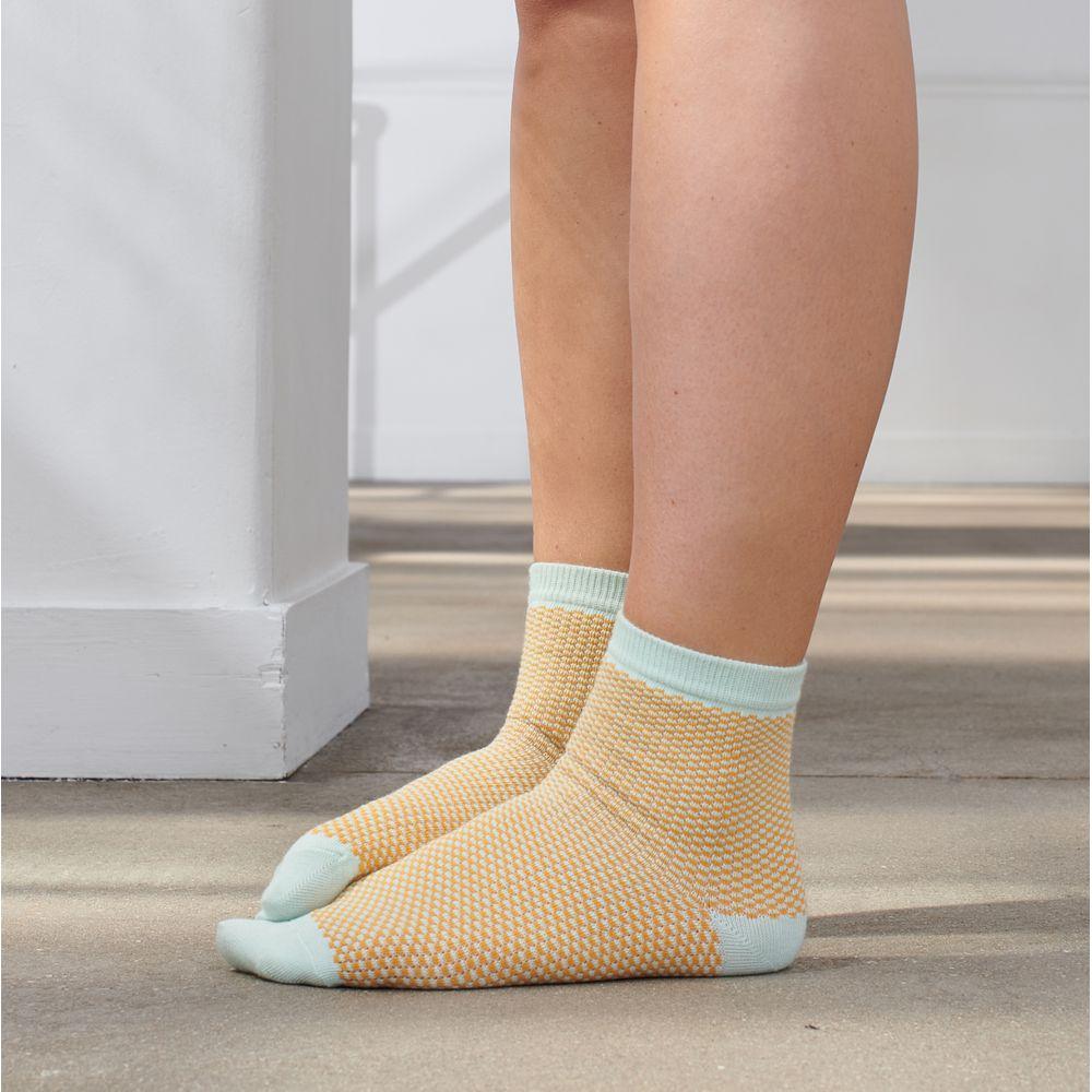 Chaussette Femme Menthe Le Slip Français
