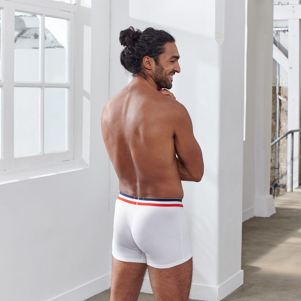 Boxer Homme Blanc Le Slip Français