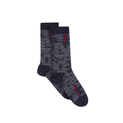 Les lucas Maze - Socks with pattern