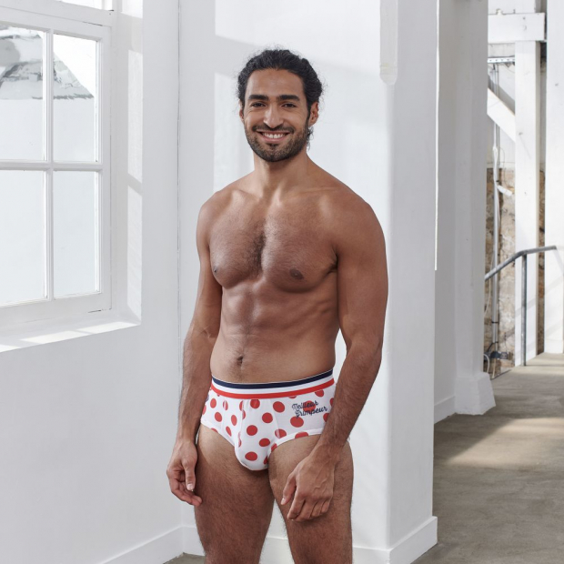 "Cotton brief ""Best climber"""