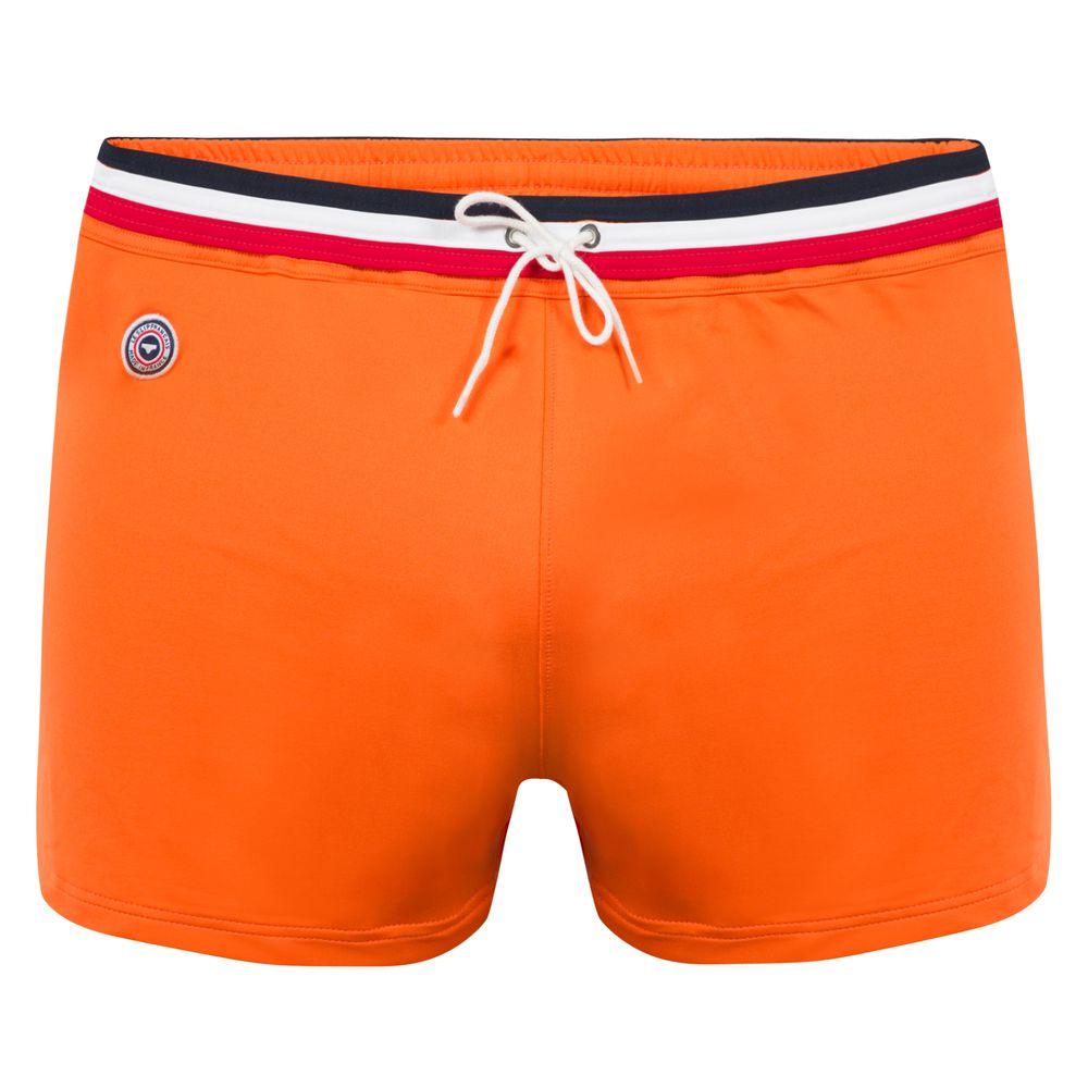 Boxer De Bain Homme Orange Le Slip Français