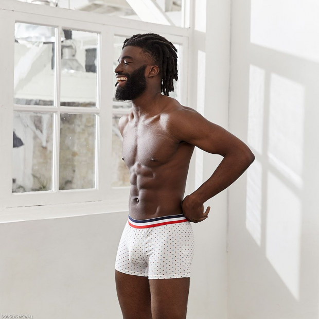 Cotton boxer brief
