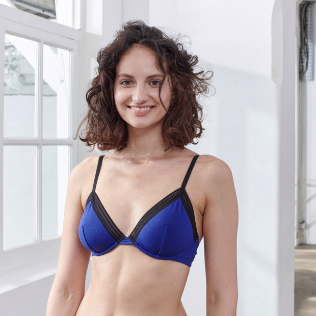 Underwired modal bra