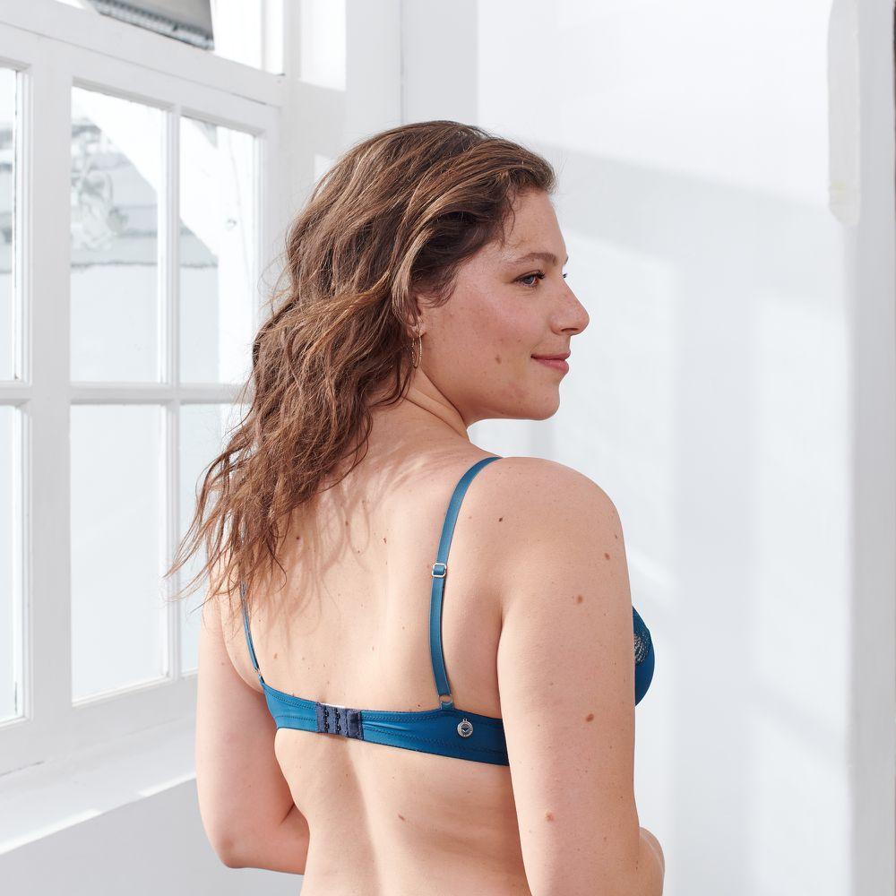Soutien Gorge Femme Bleu Paon Le Slip Français
