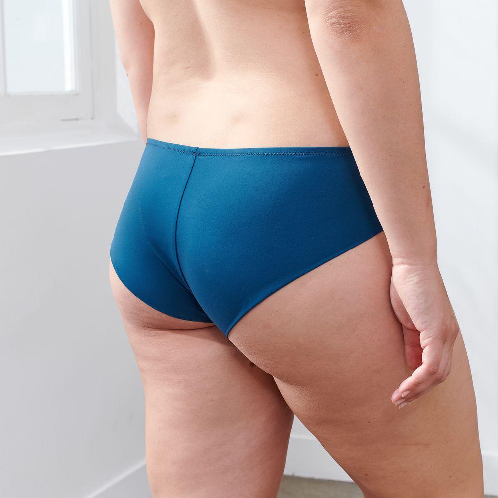 Culotte Et Bas Femme Bleu Paon Le Slip Français