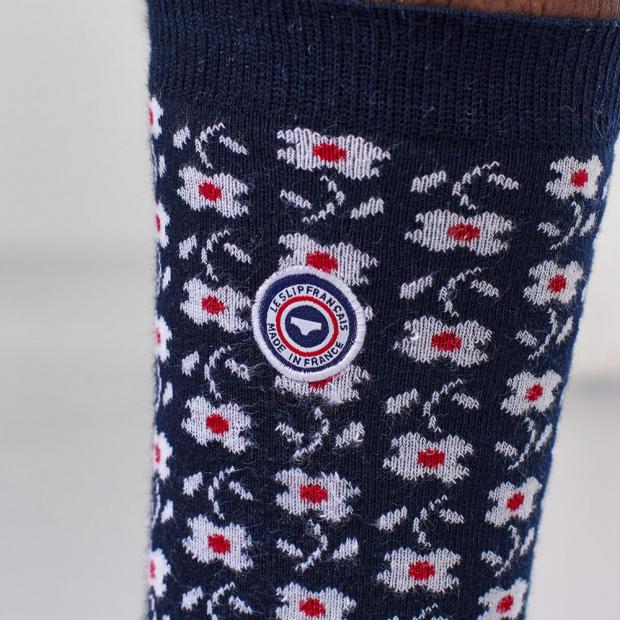 Chaussettes mi-hautes en coton bio