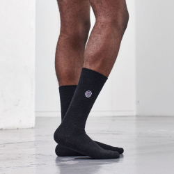 CHAUSSETTES RECYCLES LES AYMERIC anthracite