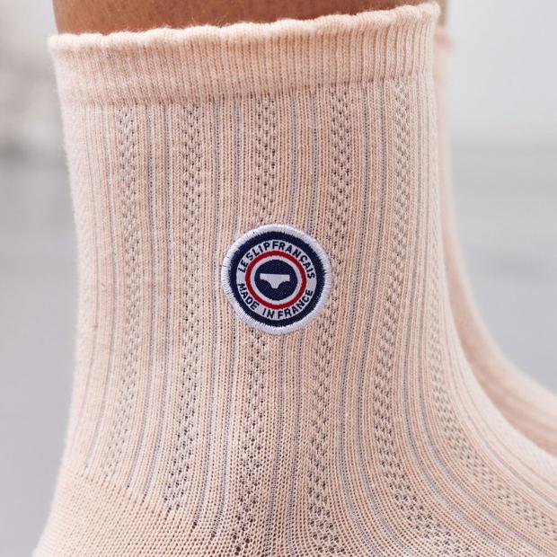 Chaussettes courtes en coton bio