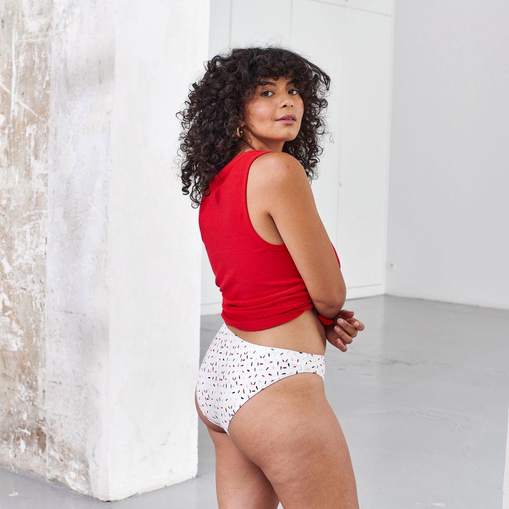 Culotte Et Bas Femme Pepins Blanc Le Slip Français