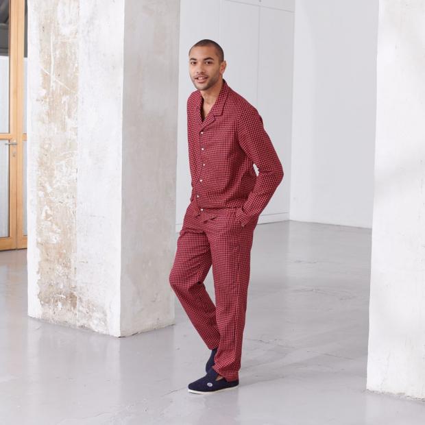 Pantalon de nuit en coton bio