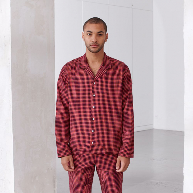 Pyjama shirt from organic cotton