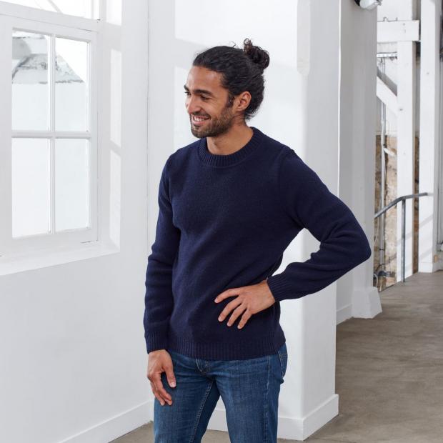Unisex Pullover aus französischer Merinowolle