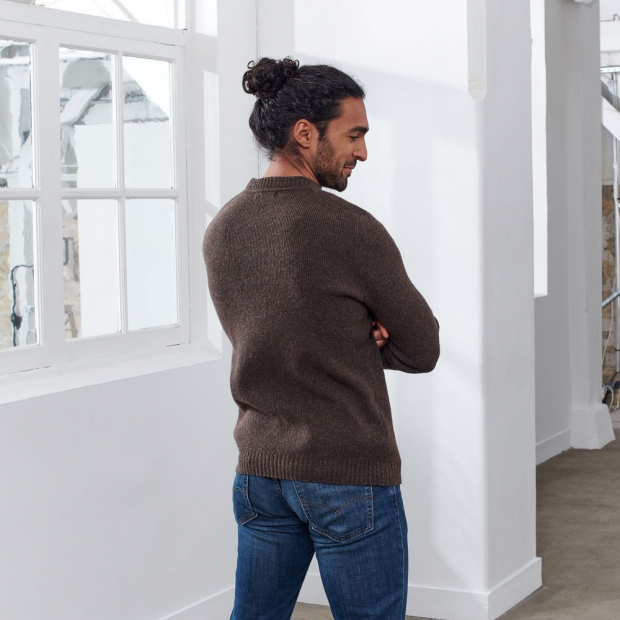Pullover from French merino wool