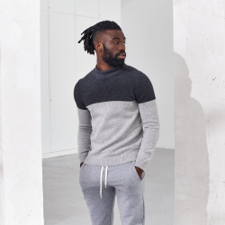 PULL LAINE RECYCLEE LE RICO gris_chine
