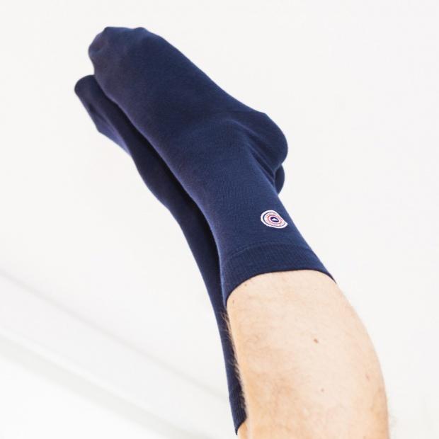La Vendée - Chaussettes bleues