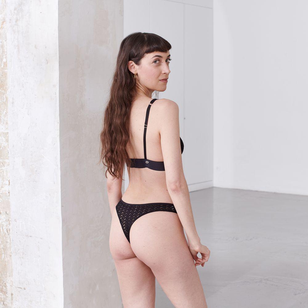 Culotte Et Bas Femme Noir Le Slip Français