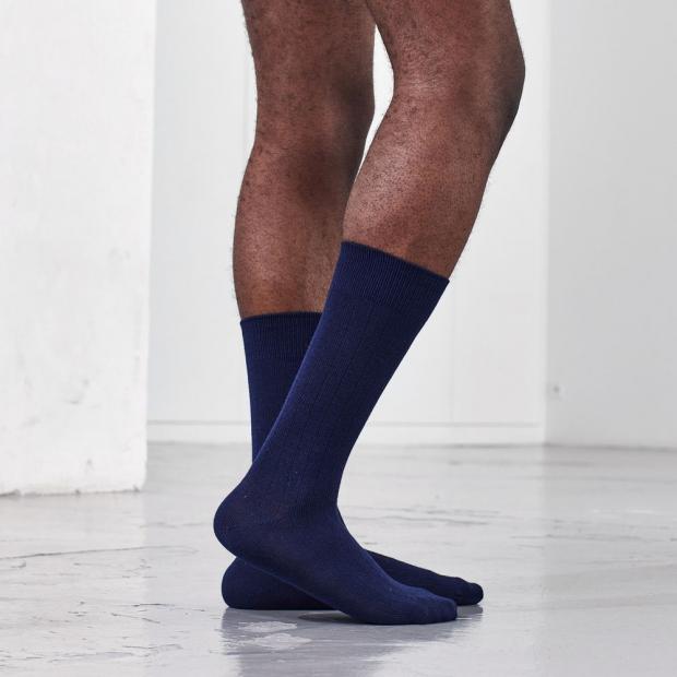 Unisex socks in organic wool