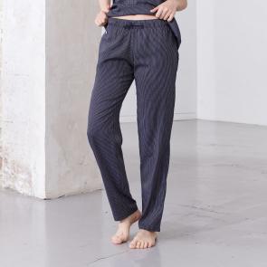 Pantalon pyjama en coton-viscose