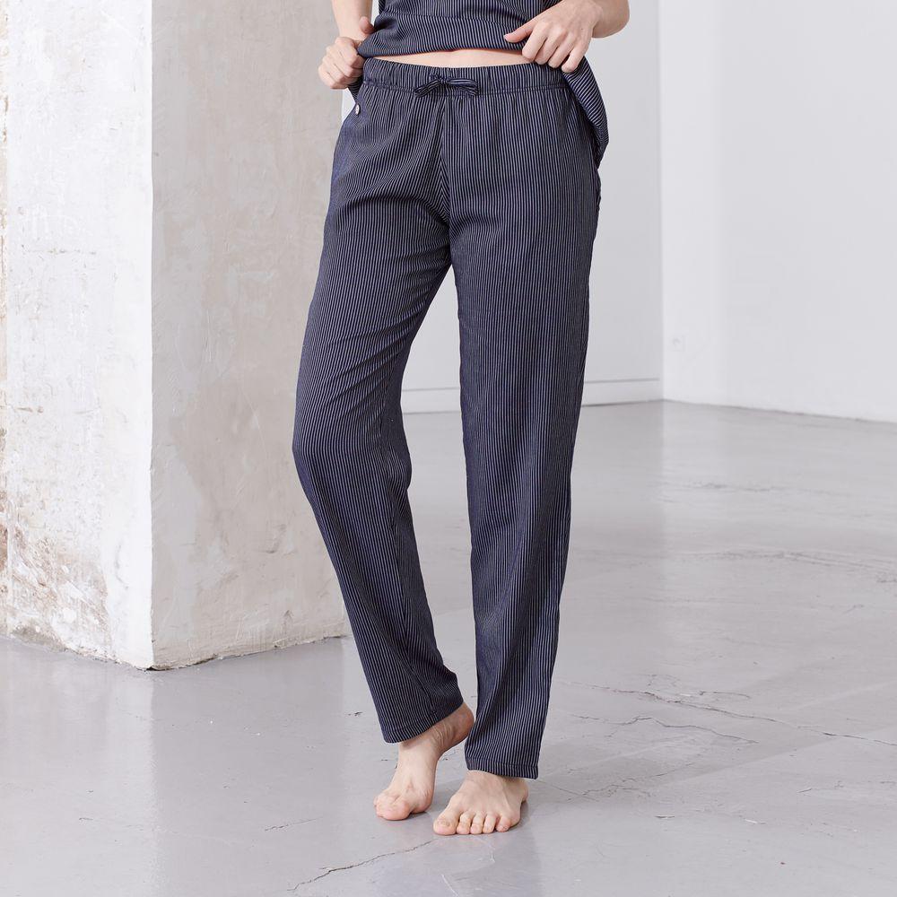 Pyjama Bas Femme Cordelettes Marine Le Slip Français