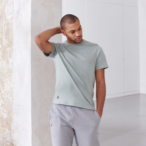 T-shirt jersey lourd en coton
