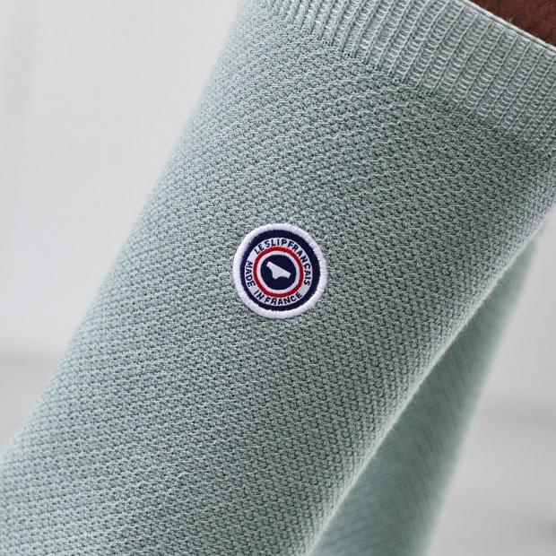 Pack de 5 paires de chaussettes en coton bio piqué