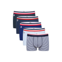 Le Marius Cinco Pack de 5 boxers en coton