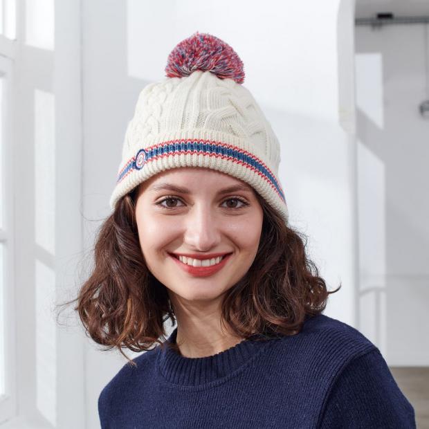 Bonnet mixte en laine mérinos