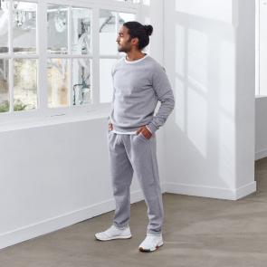 Sweatshirt from cotton fleece