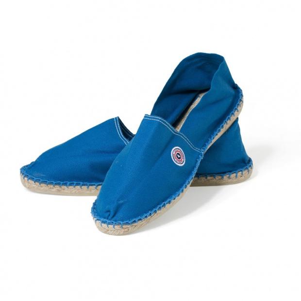 Espadrilles mixtes bleues