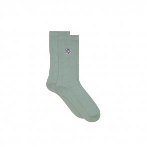 Organic cotton piqué socks