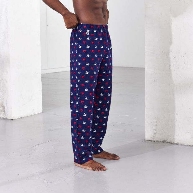 Pantalon de pyjama en coton