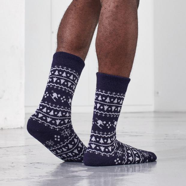 Chaussettes mi-hautes en laine
