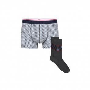 Boxer brief and socks