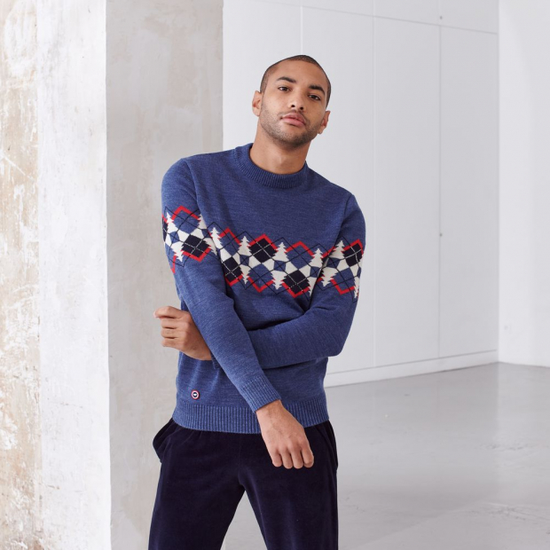 Pullover from merino wool