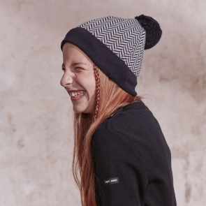 Merino wool children's beanie