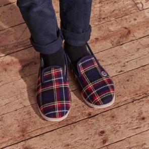 Chaussons d'intérieur enfant avec rembourrage en laine