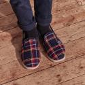 Les Petites Charentaises Chaussons d'intérieur enfant avec rembourrage en laine