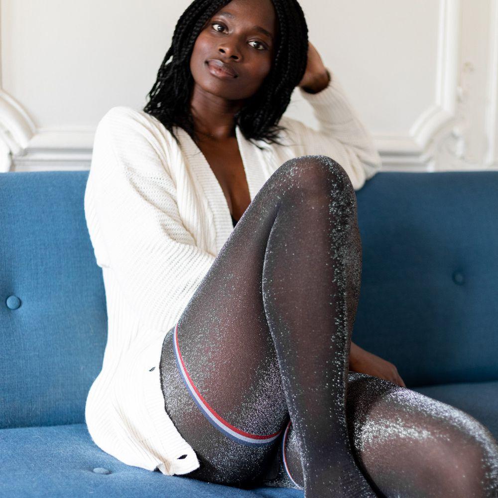 Collant Femme Lurex Le Slip Français