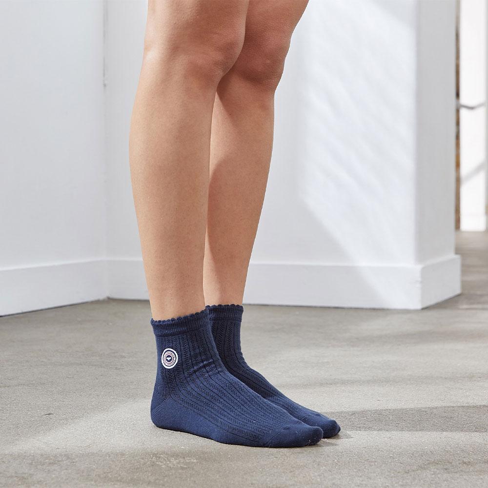 Chaussette Femme Marine Le Slip Français