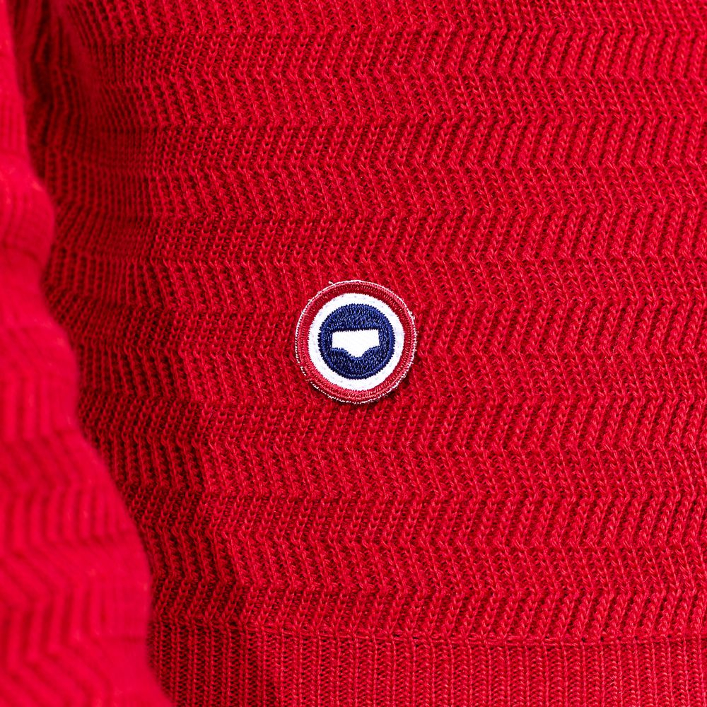 Maille Homme Rouge Le Slip Français